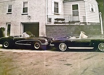 044 Barn Find 1961 Corvette Black