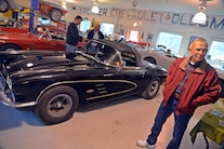 028 Barn Find 1961 Corvette Black
