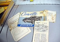 027 Barn Find 1961 Corvette Black