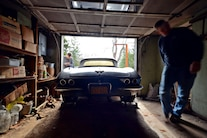 011 Barn Find 1961 Corvette Black