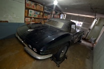004 Barn Find 1961 Corvette Black