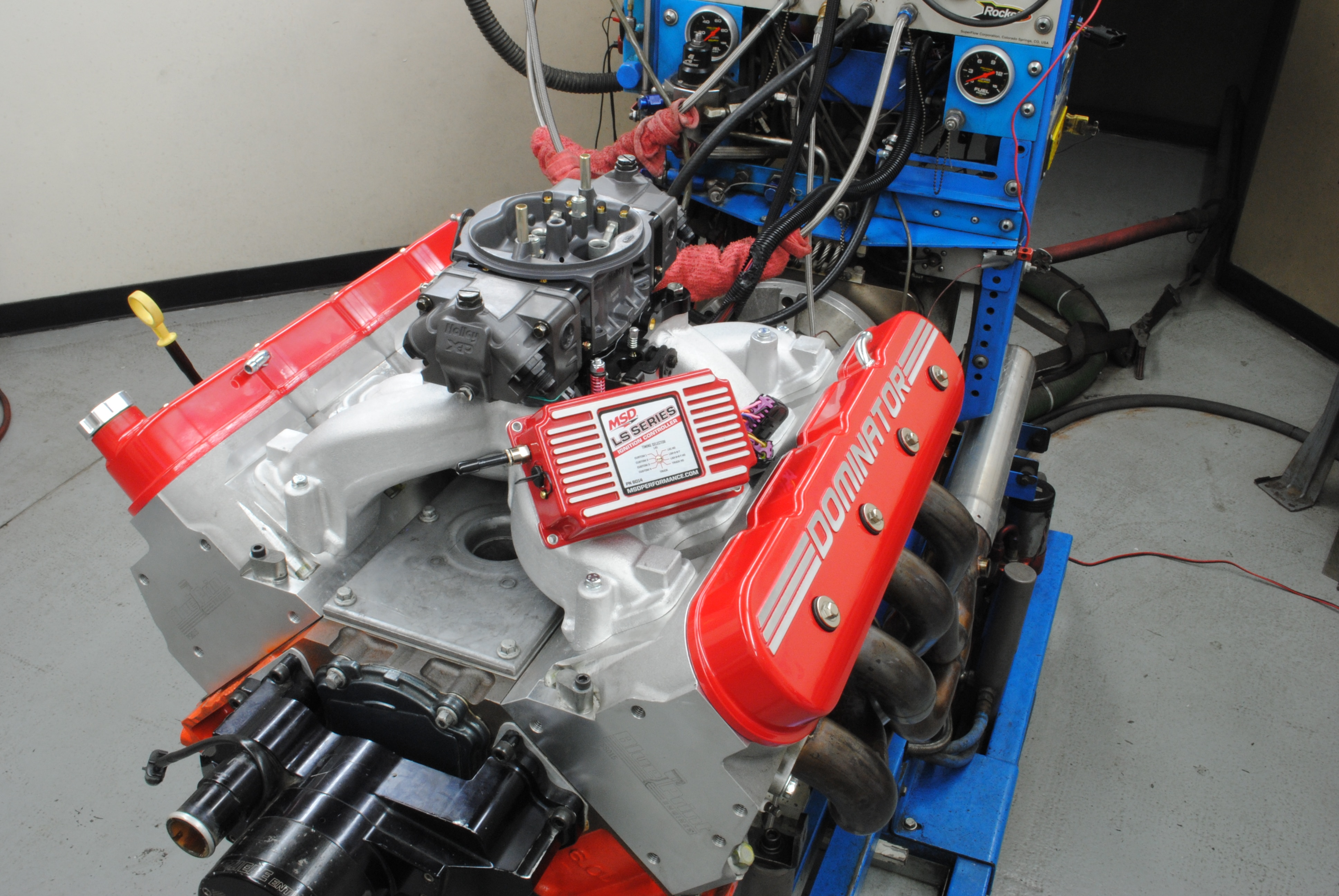 Blueprint 6l Ls3 Head Crate Engine Dyno