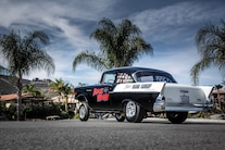 1957 Chevy Gasser Rear Side