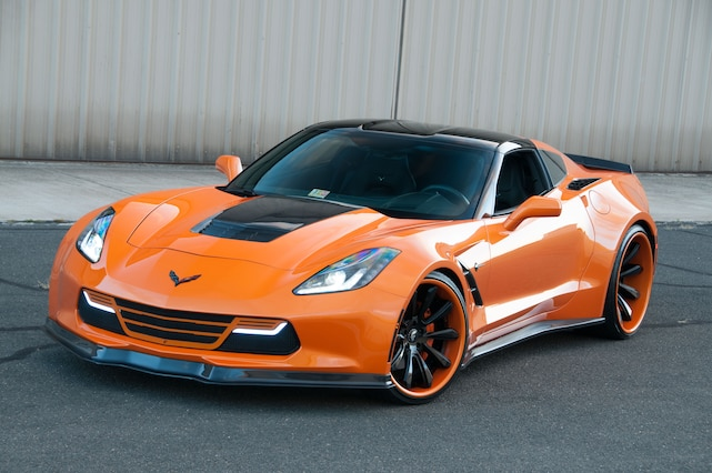2014 Corvette Coupe Supercharged Front