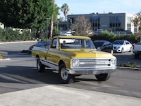 Chevrolet C10 Long Bed Driving