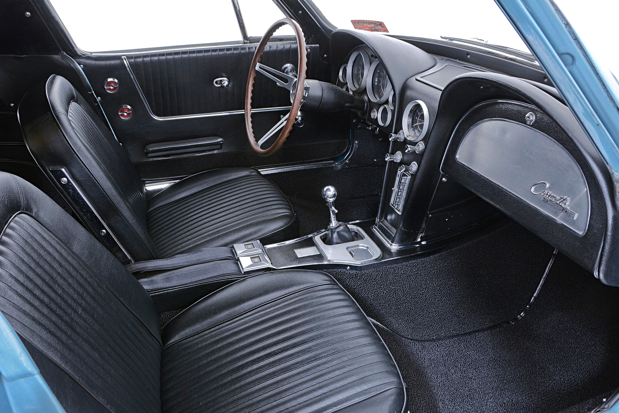 1964 Corvette Interior Carpet Install