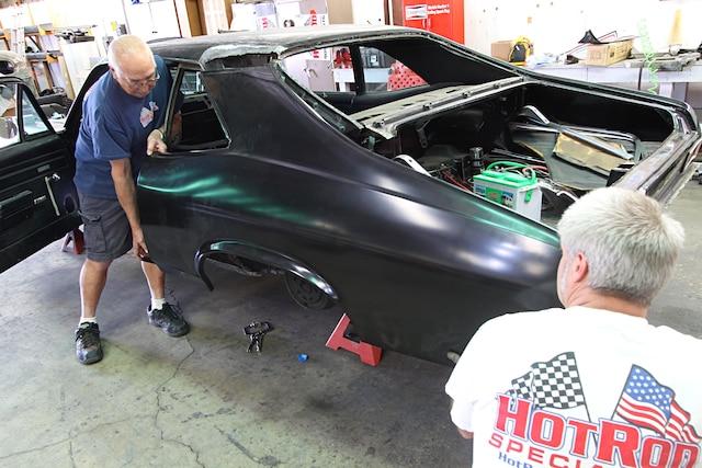 1969 Chevy Nova Quarter Panel Install