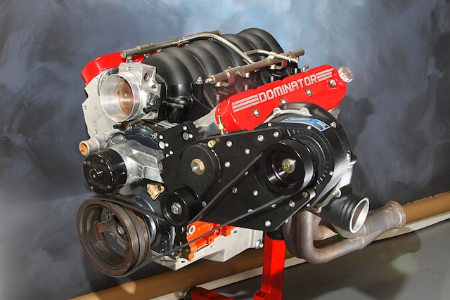 6l Ls Crate Engine Cranks Out An Extra 300 Hp With Procharger D 1sc