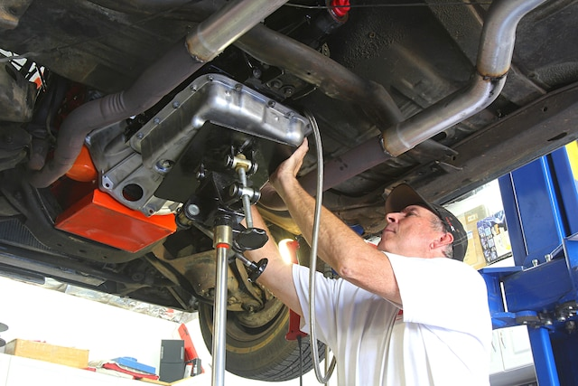 Installing a 4L60E Transmission in an Early A-Body