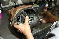 C3 corvette rear differential removal | C3 Rear Spring Removal and
