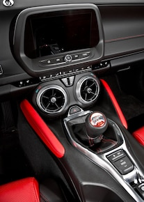 2016 Camaro Ss Procharger Black Red 020