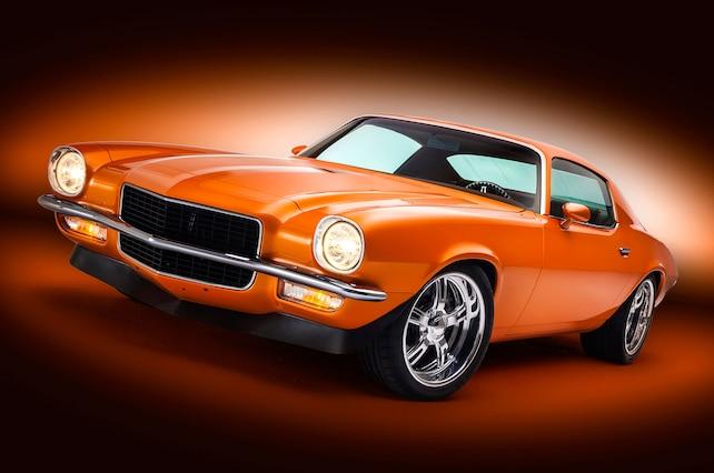 1971 Chevrolet Camaro Front Side