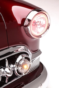 1953 Chevy Belair Coupe Supercharged Ls3 Edelbrock Headlight