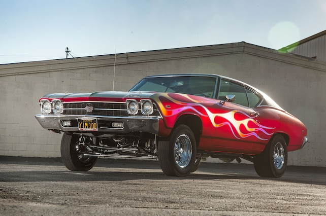 1969 Chevrolet Chevelle Front