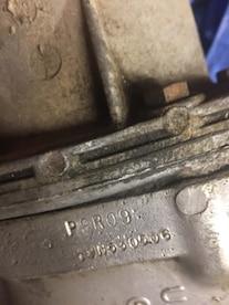 Rare Finds Bizzarro 1969 Chevrolet Camaro Z28 Transmission Stamping