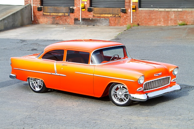 Stunning 1955 Chevy 210 is one of a kind!