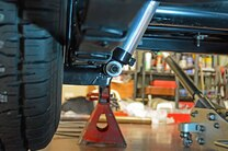 1960 Corvette Shock Bracket Modification Weld