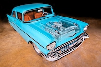 1957 Chevy Pro Street Turbo 001 Front Quarter