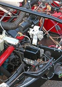 1953 Corvette Chassis Number3 Cutaway Mackay 015