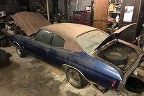 053 1970 Chevelle Ss Blue