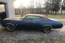 063 1970 Chevelle Ss Blue