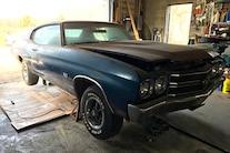 066 1970 Chevelle Ss Blue