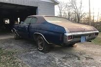 071 1970 Chevelle Ss Blue