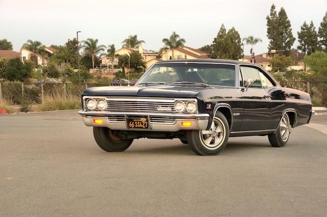 001 Halluska 1966 Chevrolet Impala Ss Front Three Quarter