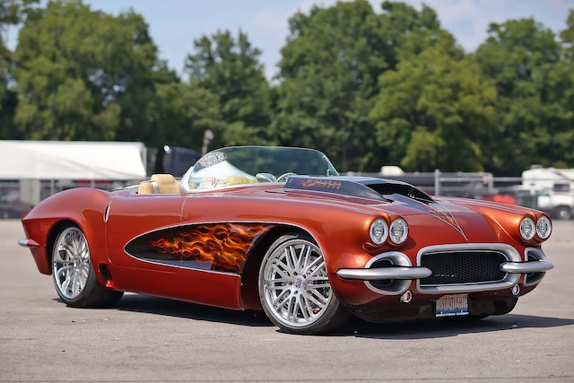 01 1962 Chevrolet Corvette Car Craft Nationals