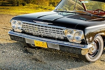 1962 Impala Bel Air Chevrolet Black Red 032