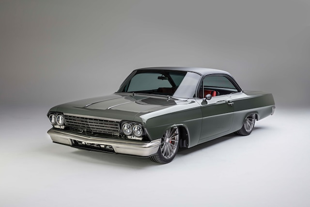 1962 Chevy Impala Bubbletop Twin Turbo Front