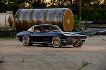 17 1963 Corvette Split Window Coupe 327 Small Block Chiuscano