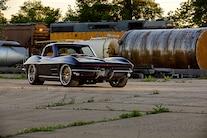 16 1963 Corvette Split Window Coupe 327 Small Block Chiuscano