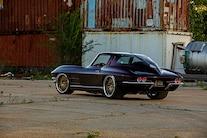 10 1963 Corvette Split Window Coupe 327 Small Block Chiuscano