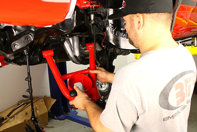 Flattening out the curves with a bolt-on A-body suspension kit from BMR