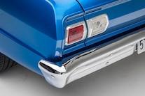 007 1965 Nova TCI Blue Small Block