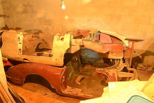 01 1956 1959 Corvette Rare Finds