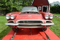 1962 Corvette Fuel Injected Barn Find 037