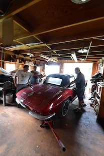1962 Corvette Fuel Injected Barn Find 042