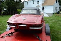 1962 Corvette Fuel Injected Barn Find 045