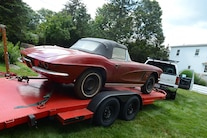 1962 Corvette Fuel Injected Barn Find 046