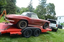 1962 Corvette Fuel Injected Barn Find 047