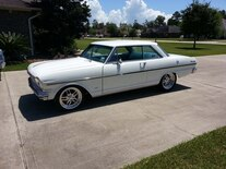 1963 Chevrolet Nova Three Quarter