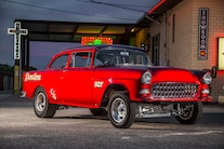 13 1955 Chevy Sedan Gasser Boschma
