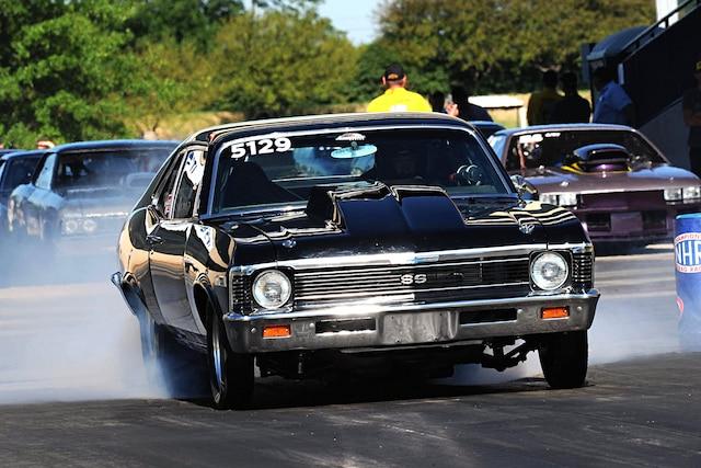 001 1969 Chevy Nova Burnout