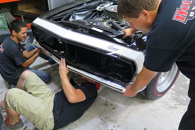 001 1968 Camaro Bumper Installation