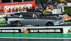 019 1957 Chevy Drag Car Collection