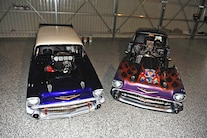 009 1957 Chevy Drag Car Collection