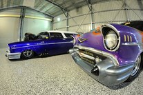 007 1957 Chevy Drag Car Collection