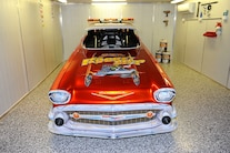 003 1957 Chevy Drag Car Collection